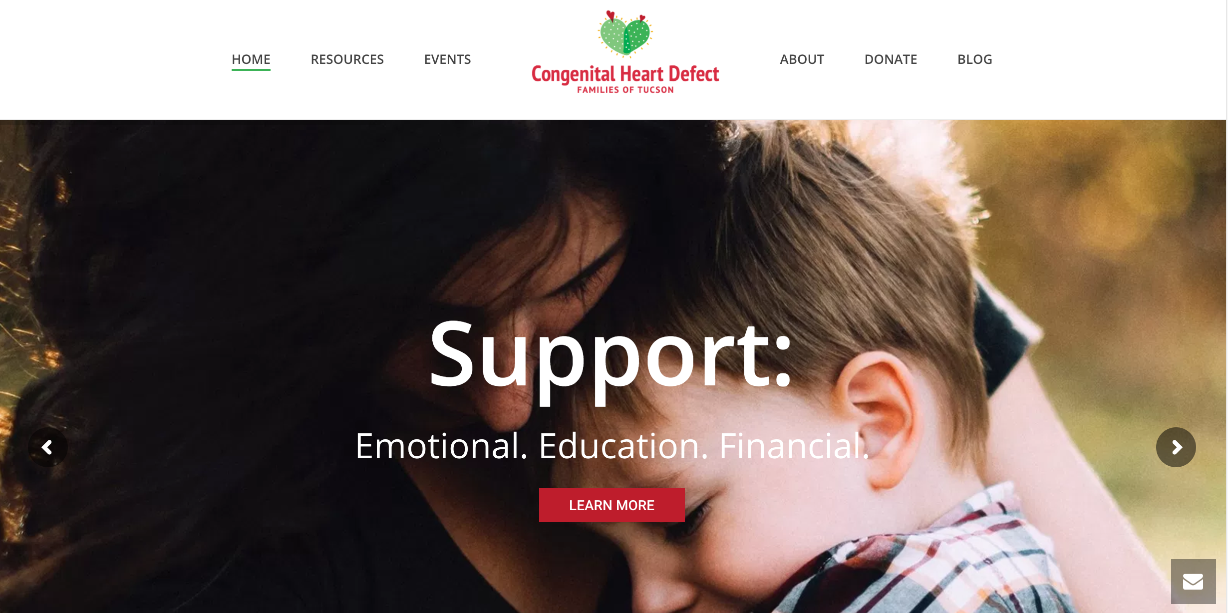 website for CHD Tucson